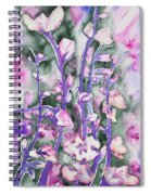 Watercolor - Cherry Blossoms Spiral Notebook