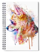 Watercolor Chihuahua  Spiral Notebook