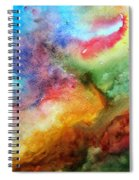Watercolor Collage Spiral Notebook