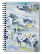 Watercolor - Crane Ballet Spiral Notebook