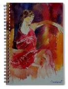 Watercolor Eglantine 1 Spiral Notebook