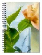 Watercolor Hibiscus Spiral Notebook