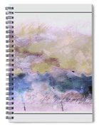 Watercolor Landscape Spiral Notebook