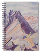 Watercolor - Near The Top Of Mount Sneffels Spiral Notebook