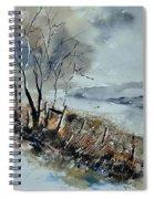 Watercolor Spiral Notebook