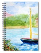 Watercolor Sail Spiral Notebook