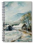 Watercolor Sechery 1207 Spiral Notebook