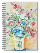 Watercolor Series 140 Spiral Notebook