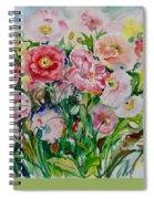 Watercolor Series No. 258 Spiral Notebook