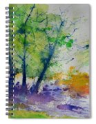 Watercolor Spring 2016 Spiral Notebook