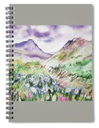 Watercolor - Yankee Boy Basin Landscape Spiral Notebook