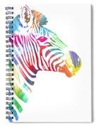 Watercolor Zebra Spiral Notebook