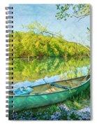 Watercolors At The Lake Spiral Notebook