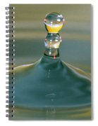 Waterdrop Spiral Notebook