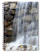 Waterfall 1 Spiral Notebook
