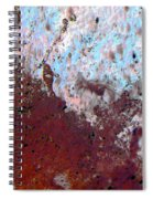 Waterfall 2 Abstract Spiral Notebook