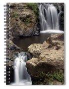 Waterfall 54 Spiral Notebook