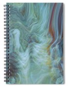 Waterfall Angel Spiral Notebook