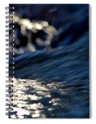 Waterfall At Dawn  Spiral Notebook