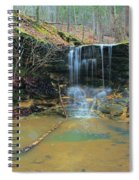 Waterfall At Don Robinson State Park 1 Spiral Notebook