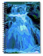 Waterfall At Finch 2 Spiral Notebook