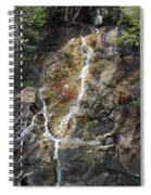 Waterfall At Lake Willoughby  Spiral Notebook