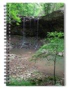 Waterfall Base Spiral Notebook