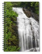 Waterfall Closeup Spiral Notebook