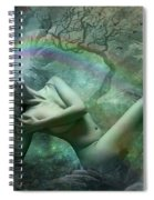 Waterfall Dreams Spiral Notebook
