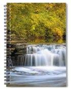 Waterfall Glen, Lemont, Il Spiral Notebook