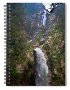Waterfall Highlands Of Guatemala 1 Spiral Notebook