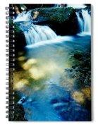 Waterfall Hilo Hi Spiral Notebook