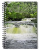 Waterfall In Cradle Mountain Spiral Notebook