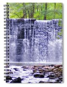 Waterfall In Gladwyne Spiral Notebook