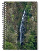 Waterfall In The Intag 2 Spiral Notebook