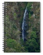 Waterfall In The Intag Spiral Notebook
