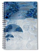 Waterfall In The Moon Spiral Notebook
