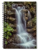 Waterfall In The Opryland Hotel Spiral Notebook