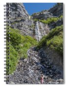 Waterfall Love Spiral Notebook