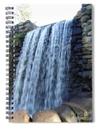 Waterfall Of The Grist Mill Spiral Notebook