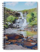 Waterfall On Skye 2 Spiral Notebook