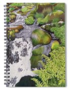 Waterfall On Skye Spiral Notebook