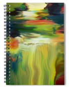 Waterfall On The Krka River Spiral Notebook