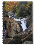 Waterfall On West Fork French Broad River Spiral Notebook
