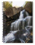 Maine Waterfall Spiral Notebook