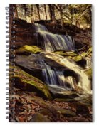 Waterfall Through The Trees Spiral Notebook
