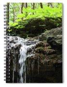 Waterfall Topper Spiral Notebook