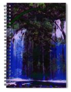 Waterfall Visual Spiral Notebook
