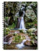 Waterfall. Spiral Notebook