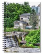 Waterfalls Cornell University Ithaca New York 04 Spiral Notebook